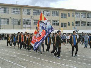 水産学部魚食普及サークルPESCA 八幡校区体育祭に参加しました