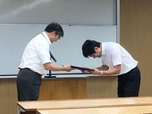 日本島嶼学会で鳥居享司准教授が研究奨励賞を受賞しました