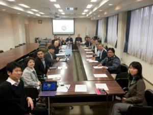 嘉義大学・生命科学院の教員9名が水産学部を表敬訪問されました