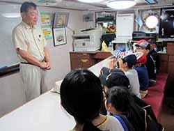 船長による注意事項の説明