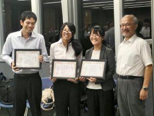 河野真知さん(連合農学研究科3年)、日本環境毒性学会発表会で若手奨励賞を受賞 小山次朗名誉教授、日本環境毒性学会功労賞を受賞