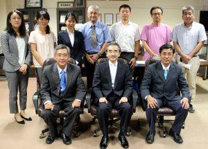 ベトナム共和国カントー大学副学長一行が水産学部を表敬訪問
