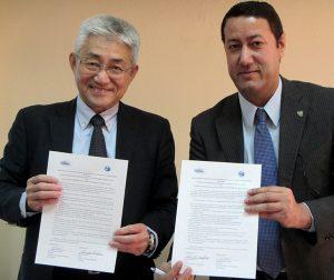鹿児島大学水産学部はエジプト国立海洋水産研究所(National Institute of Oceanography and Fisheries, Egypt(NIOF)) と学部間学術交流協定(MOU)を締結いたしました (協定の執行は2018年3月20日より開始)