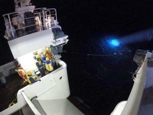 かごしま丸が東京海洋大学、愛媛大学及び九州大学の学生を対象とした共同利用乗船実習を実施しました