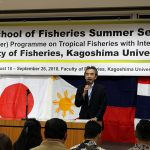 Opening Ceremony of Summer Session for the Graduate School of Fisheries 2018