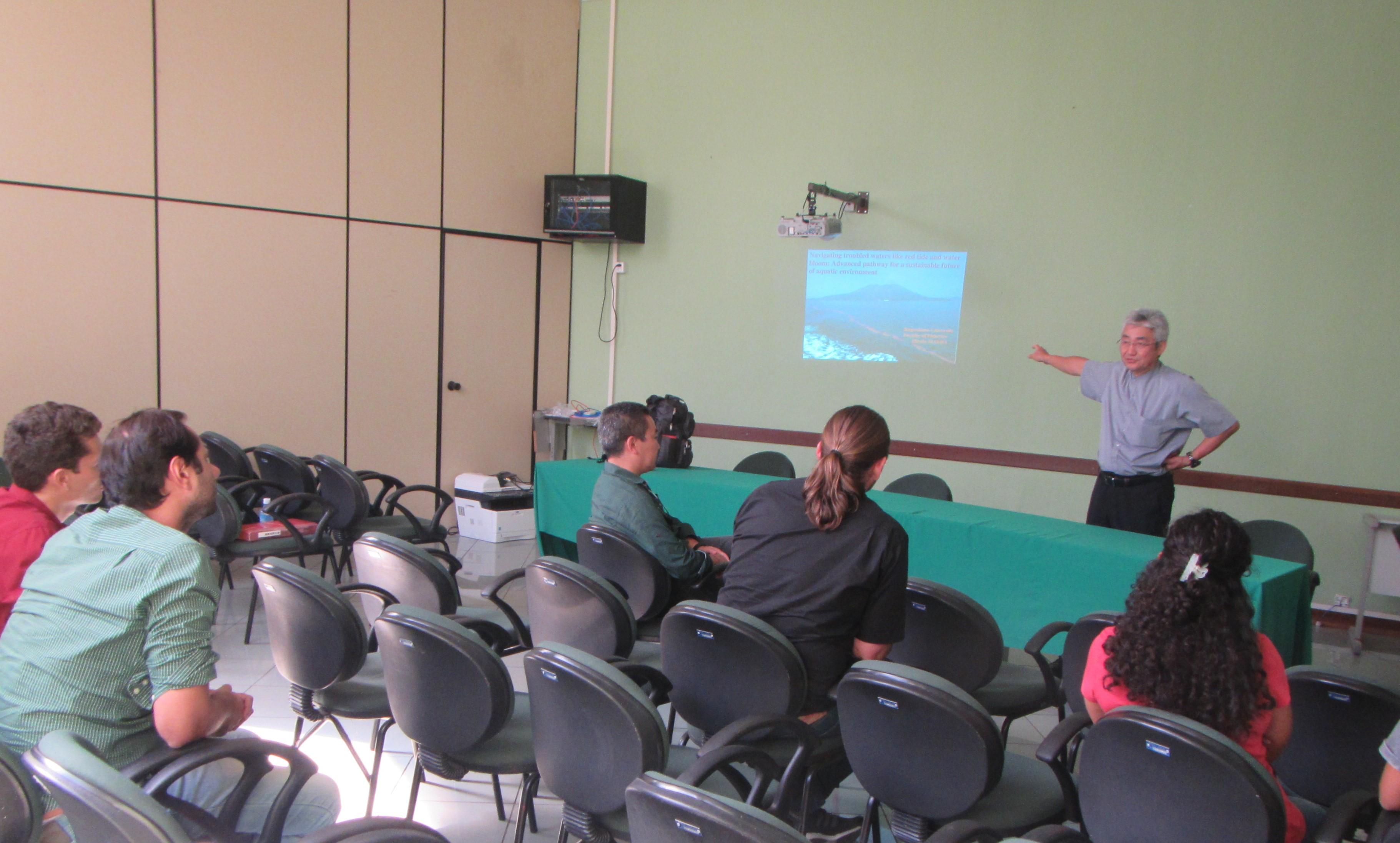 May 2019 Professor Maeda and Assistant Professor Okunishi visited the Amazon University of Agriculture and Agriculture: UFRA (Universidade Federal Rural Da Amazônia)