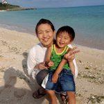 家族旅行で南の島へ行きました