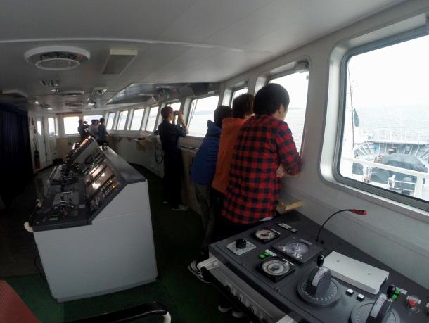航海当直実習