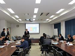 北海道根室地区の漁業関係者が視察研修に来られました