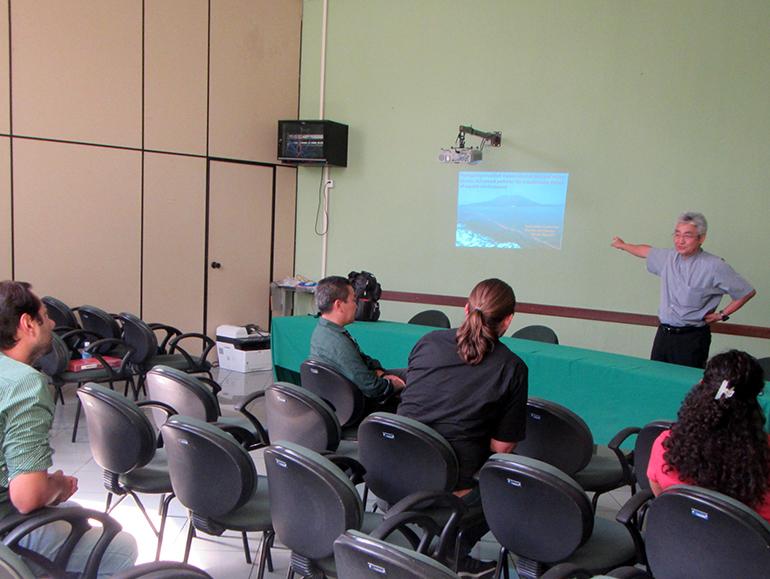 2019年5月 水産学部前田教授および奥西助教がアマゾン連邦農業大学:UFRA (Universidade Federal Rural Da Amazônia) を訪問しました