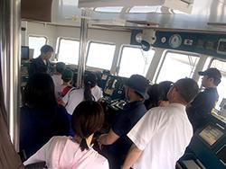 いおワールドかごしま水族館バックヤード見学および鹿児島大学附属練習船「南星丸」体験航海のご案内