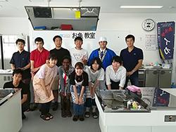 「いお・かごしま」魚食普及拡大推進協議会の主催、「お魚教室」を開催しました