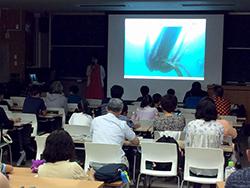 公開講座「海の生物の不思議~ダイオウイカを知ろう~」を開催しました