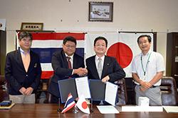 東南アジア漁業開発センターとの学術協力協定更新に関する調印式を行いました