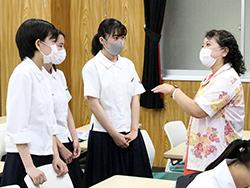国分高校 桜蔭理工系女子育成プログラム 女性研究者訪問を実施しました