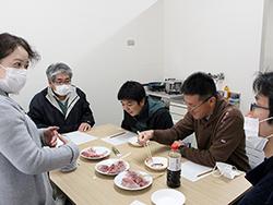 垂水市漁協の養殖カンパチ試食会を開催しました